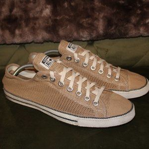 Tan Netted Converse Chuck Taylor